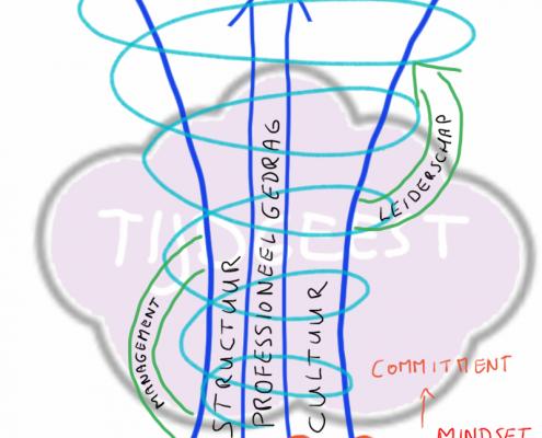 model voor continue vernieuwing